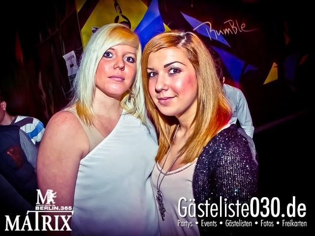 https://www.gaesteliste030.de/Partyfoto #98 Matrix Berlin vom 04.01.2013