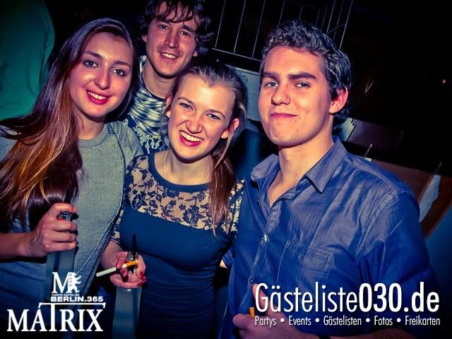 https://www.gaesteliste030.de/Partyfoto #58 Matrix Berlin vom 20.12.2012