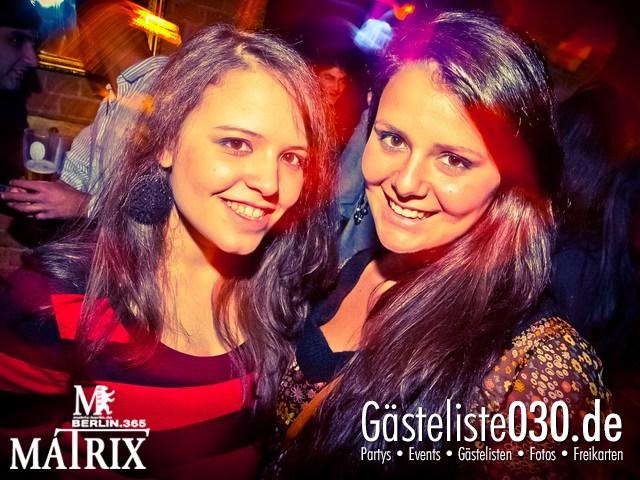https://www.gaesteliste030.de/Partyfoto #39 Matrix Berlin vom 20.12.2012