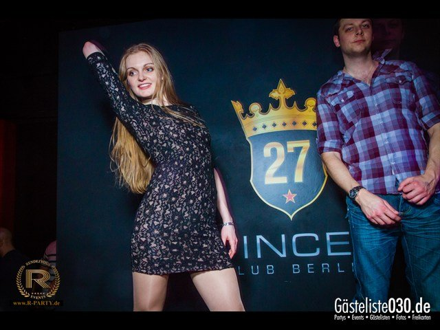 https://www.gaesteliste030.de/Partyfoto #100 Prince27 Club Berlin Berlin vom 23.02.2013