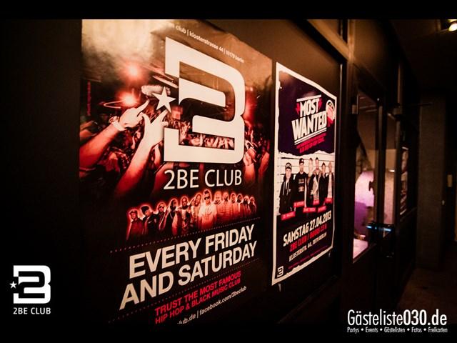 https://www.gaesteliste030.de/Partyfoto #308 2BE Club Berlin vom 27.04.2013