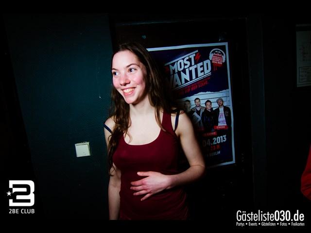 https://www.gaesteliste030.de/Partyfoto #242 2BE Club Berlin vom 27.04.2013
