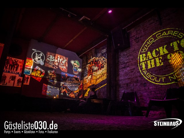 Partypics Steinhaus 27.04.2013 Back to the 90s