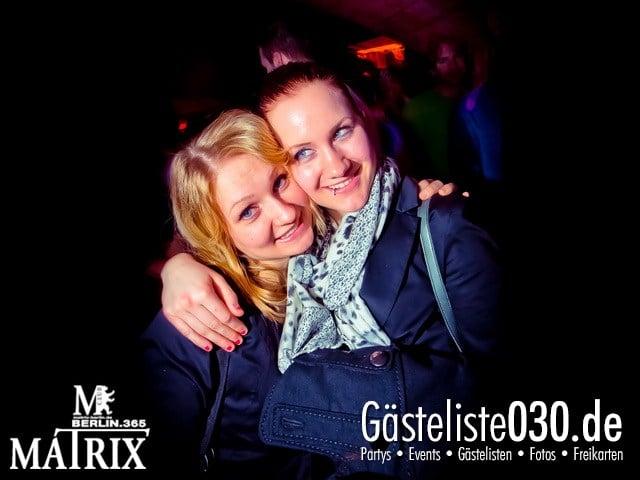 https://www.gaesteliste030.de/Partyfoto #95 Matrix Berlin vom 04.04.2013