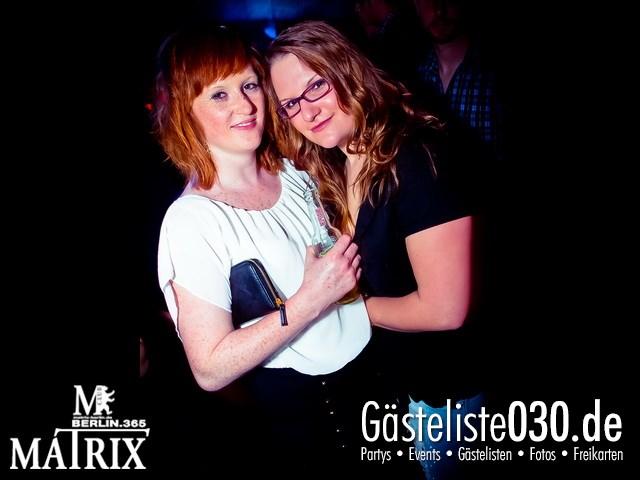 https://www.gaesteliste030.de/Partyfoto #95 Matrix Berlin vom 26.04.2013