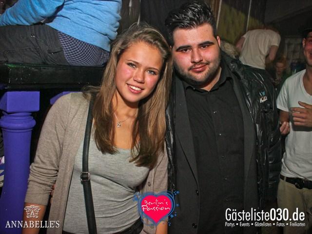 https://www.gaesteliste030.de/Partyfoto #41 Annabelle's Berlin vom 30.11.2012