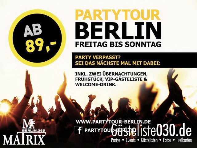 https://www.gaesteliste030.de/Partyfoto #40 Matrix Berlin vom 24.01.2013