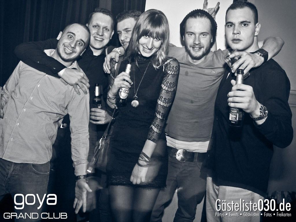 Partyfoto #50 Goya 07.12.2012 Gangnam Style pres. by Prestige, Berlins Passion & Stadtikonen