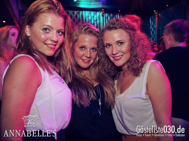 https://www.gaesteliste030.de/Partyfoto #23 Annabelle's Berlin vom 27.07.2012