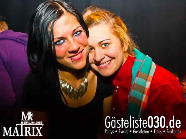 https://www.gaesteliste030.de/Partyfoto #105 Matrix Berlin vom 25.01.2013