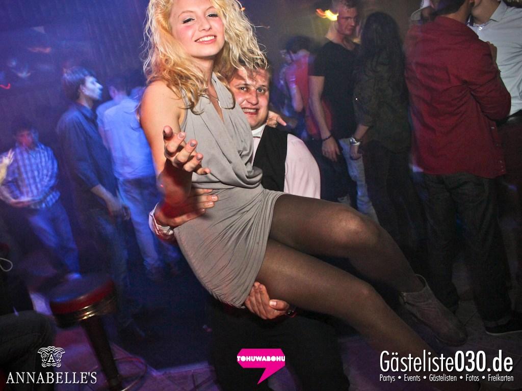 Partyfoto #51 Annabelle's 16.11.2012 Tohuwabohu meets Secret Love