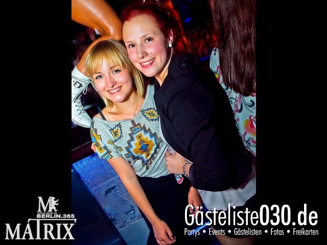https://www.gaesteliste030.de/Partyfoto #11 Matrix Berlin vom 30.05.2012