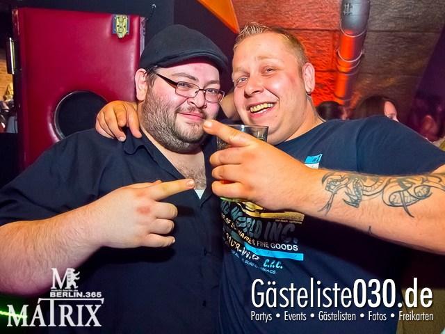 https://www.gaesteliste030.de/Partyfoto #62 Matrix Berlin vom 30.05.2012