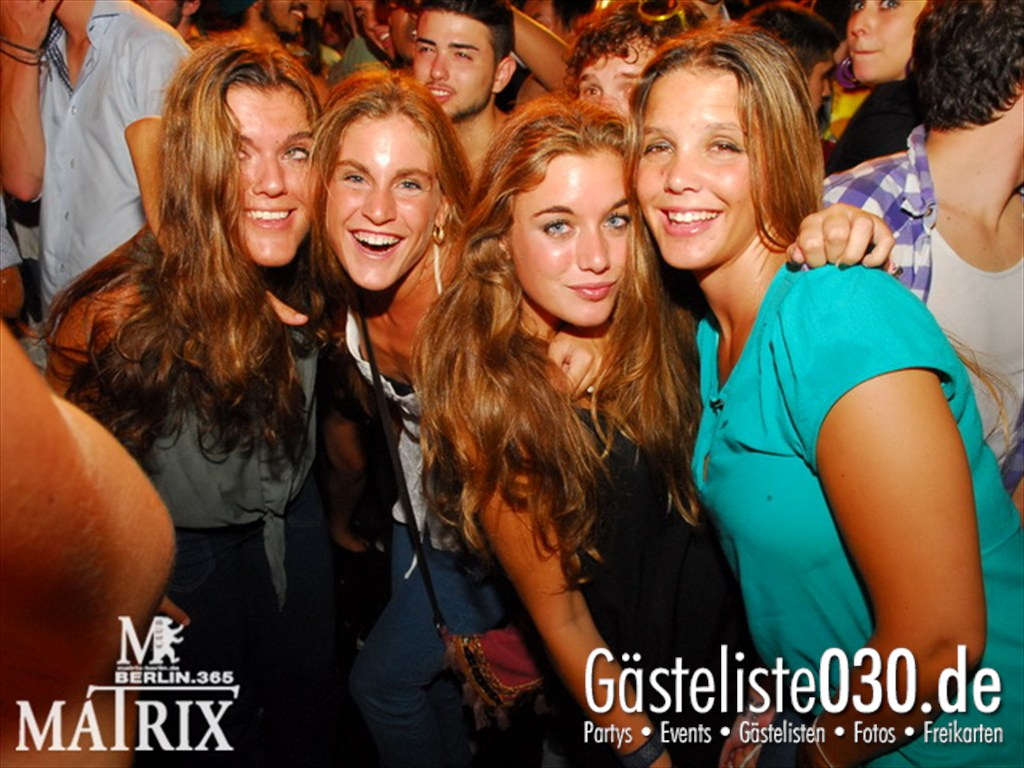 Partyfoto #75 Matrix 28.07.2012 Fruity!