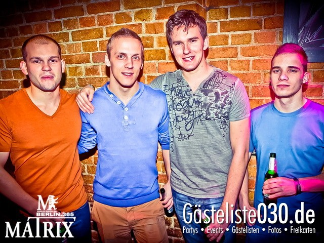 https://www.gaesteliste030.de/Partyfoto #43 Matrix Berlin vom 09.01.2013