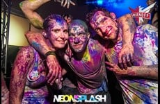 Partyfotos Trabrennbahn Karlshorst 20.07.2013 Neonsplash - Pain Party