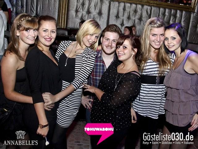 https://www.gaesteliste030.de/Partyfoto #16 Annabelle's Berlin vom 28.09.2012