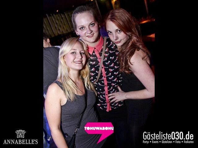 https://www.gaesteliste030.de/Partyfoto #11 Annabelle's Berlin vom 28.09.2012