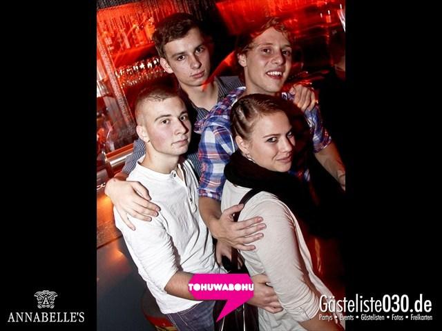 https://www.gaesteliste030.de/Partyfoto #25 Annabelle's Berlin vom 28.09.2012