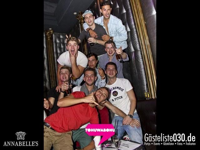 https://www.gaesteliste030.de/Partyfoto #55 Annabelle's Berlin vom 28.09.2012