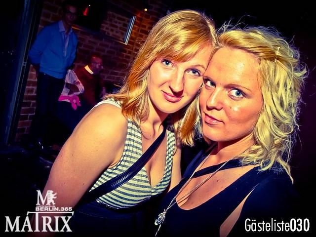 https://www.gaesteliste030.de/Partyfoto #84 Matrix Berlin vom 03.10.2012