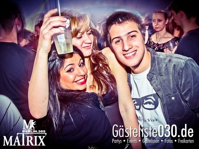 https://www.gaesteliste030.de/Partyfoto #114 Matrix Berlin vom 18.01.2013