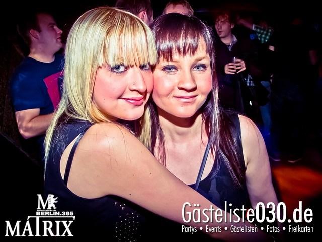 https://www.gaesteliste030.de/Partyfoto #123 Matrix Berlin vom 18.01.2013