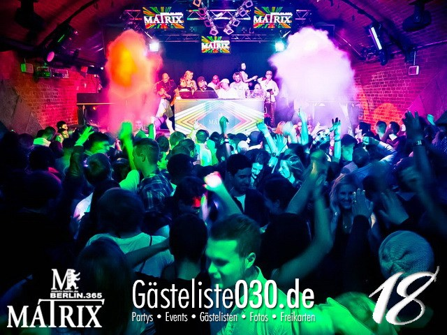 https://www.gaesteliste030.de/Partyfoto #64 Matrix Berlin vom 10.11.2012