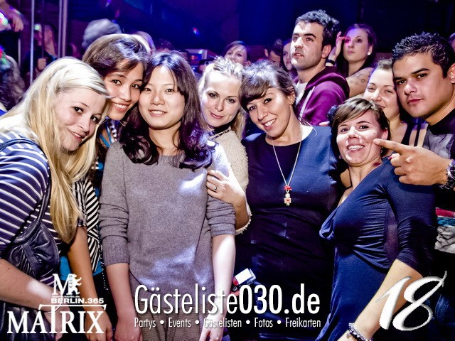 https://www.gaesteliste030.de/Partyfoto #167 Matrix Berlin vom 10.11.2012