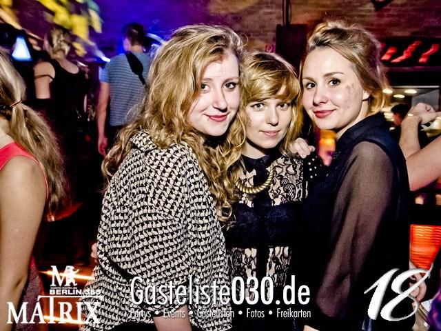 https://www.gaesteliste030.de/Partyfoto #120 Matrix Berlin vom 10.11.2012
