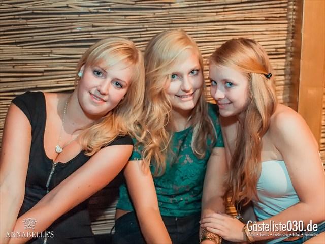 https://www.gaesteliste030.de/Partyfoto #1 Annabelle's Berlin vom 17.08.2012