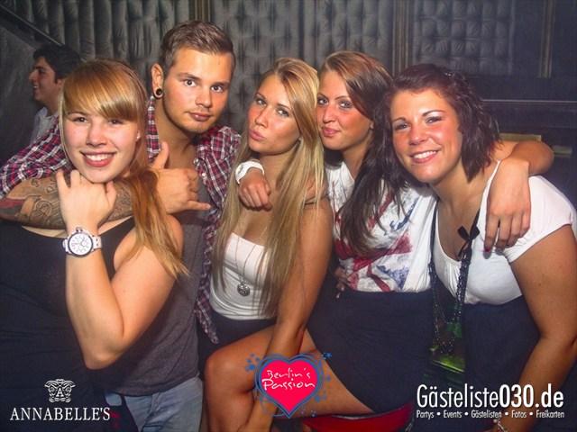 https://www.gaesteliste030.de/Partyfoto #72 Annabelle's Berlin vom 31.08.2012