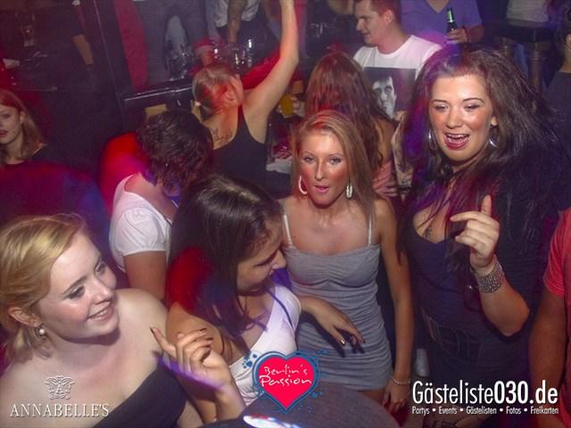 https://www.gaesteliste030.de/Partyfoto #13 Annabelle's Berlin vom 31.08.2012