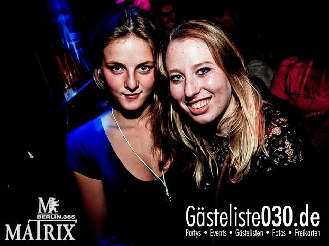 https://www.gaesteliste030.de/Partyfoto #30 Matrix Berlin vom 22.09.2012