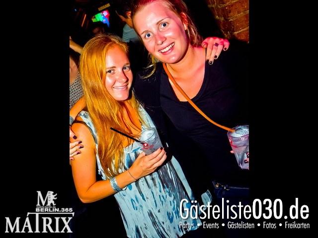 https://www.gaesteliste030.de/Partyfoto #101 Matrix Berlin vom 08.08.2012
