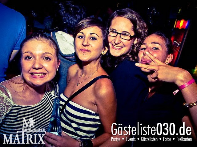https://www.gaesteliste030.de/Partyfoto #148 Matrix Berlin vom 19.09.2012