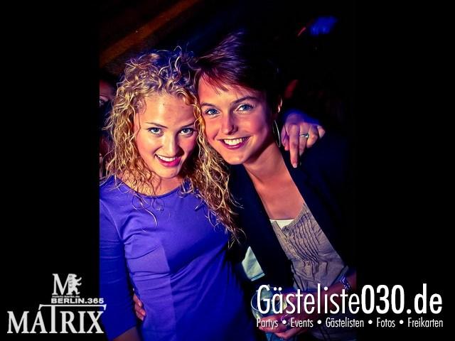 https://www.gaesteliste030.de/Partyfoto #84 Matrix Berlin vom 19.09.2012