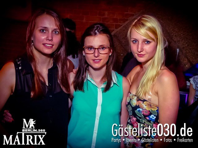 https://www.gaesteliste030.de/Partyfoto #65 Matrix Berlin vom 18.05.2013