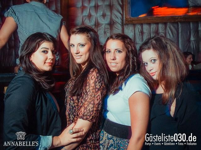 https://www.gaesteliste030.de/Partyfoto #11 Annabelle's Berlin vom 11.08.2012