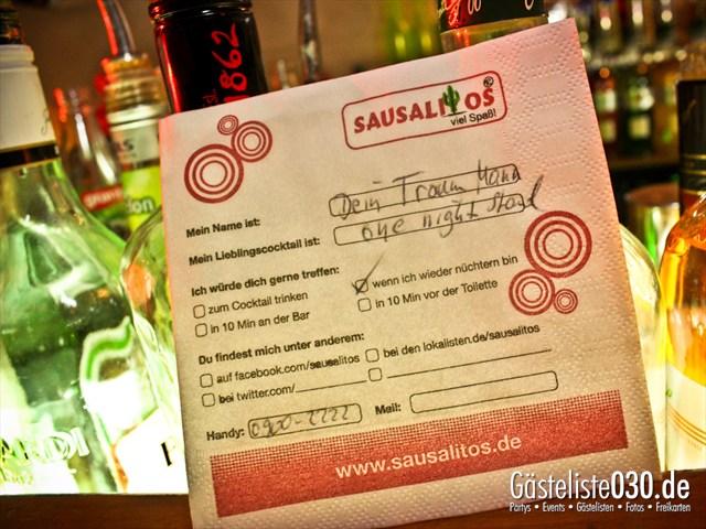 https://www.gaesteliste030.de/Partyfoto #23 Sausalitos Berlin vom 22.11.2012