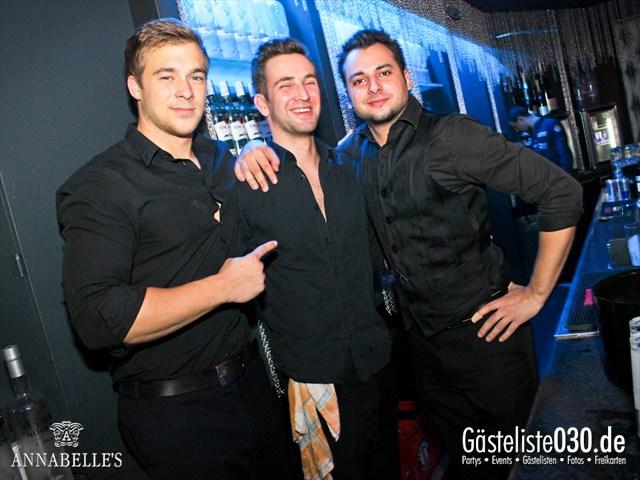 https://www.gaesteliste030.de/Partyfoto #121 Annabelle's Berlin vom 03.11.2012