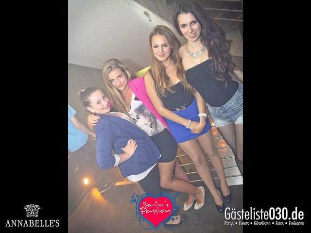https://www.gaesteliste030.de/Partyfoto #8 Annabelle's Berlin vom 25.05.2012