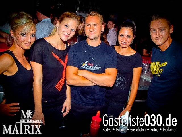 https://www.gaesteliste030.de/Partyfoto #62 Matrix Berlin vom 24.08.2012