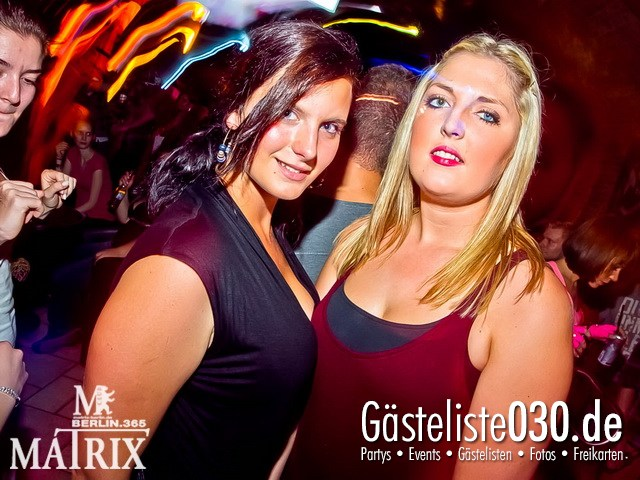 https://www.gaesteliste030.de/Partyfoto #61 Matrix Berlin vom 15.09.2012