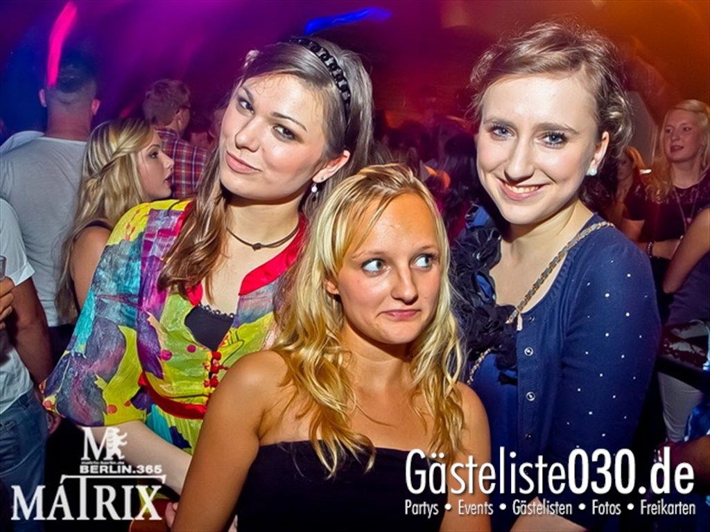 Partyfoto #49 Matrix 15.09.2012 Fruity!