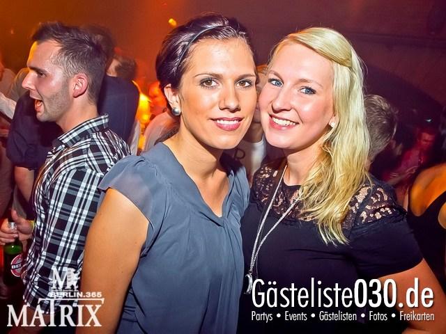 https://www.gaesteliste030.de/Partyfoto #133 Matrix Berlin vom 15.09.2012