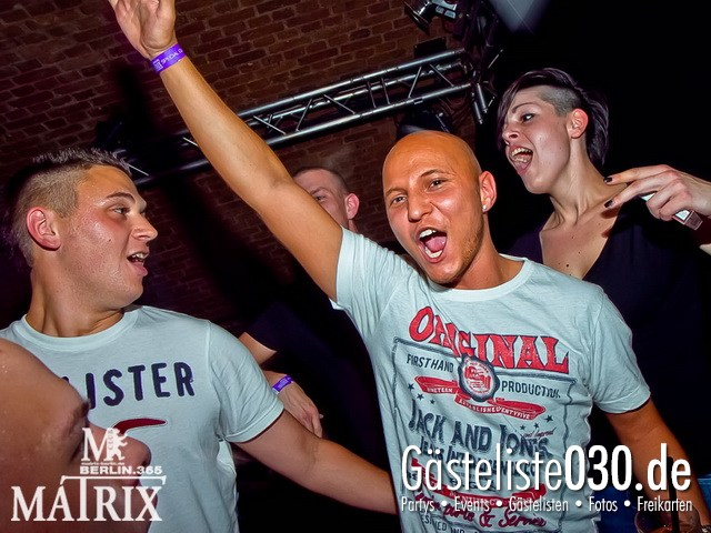 https://www.gaesteliste030.de/Partyfoto #58 Matrix Berlin vom 15.09.2012