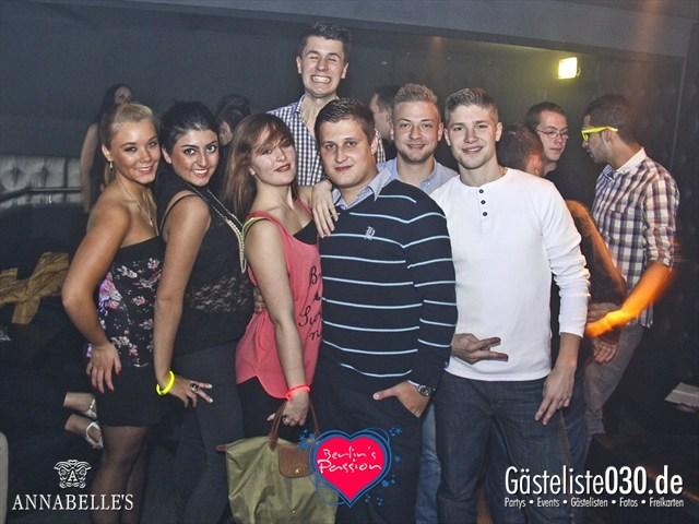 https://www.gaesteliste030.de/Partyfoto #76 Annabelle's Berlin vom 26.10.2012