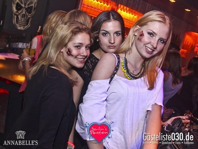 https://www.gaesteliste030.de/Partyfoto #72 Annabelle's Berlin vom 26.10.2012