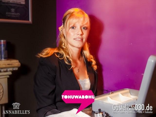 https://www.gaesteliste030.de/Partyfoto #65 Annabelle's Berlin vom 14.09.2012
